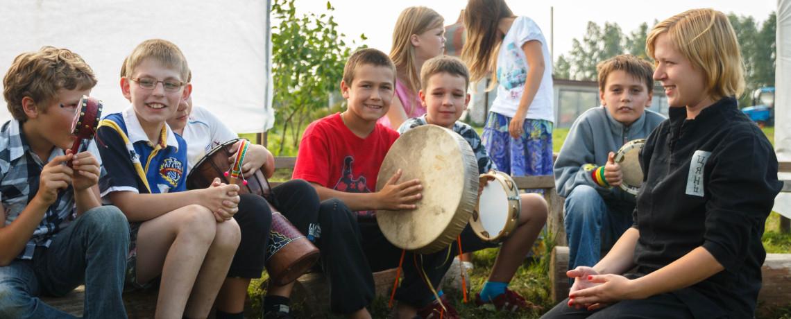 Kids Band Kitezh Russia