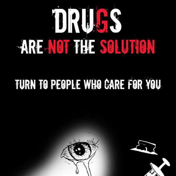 drugs are not the solution